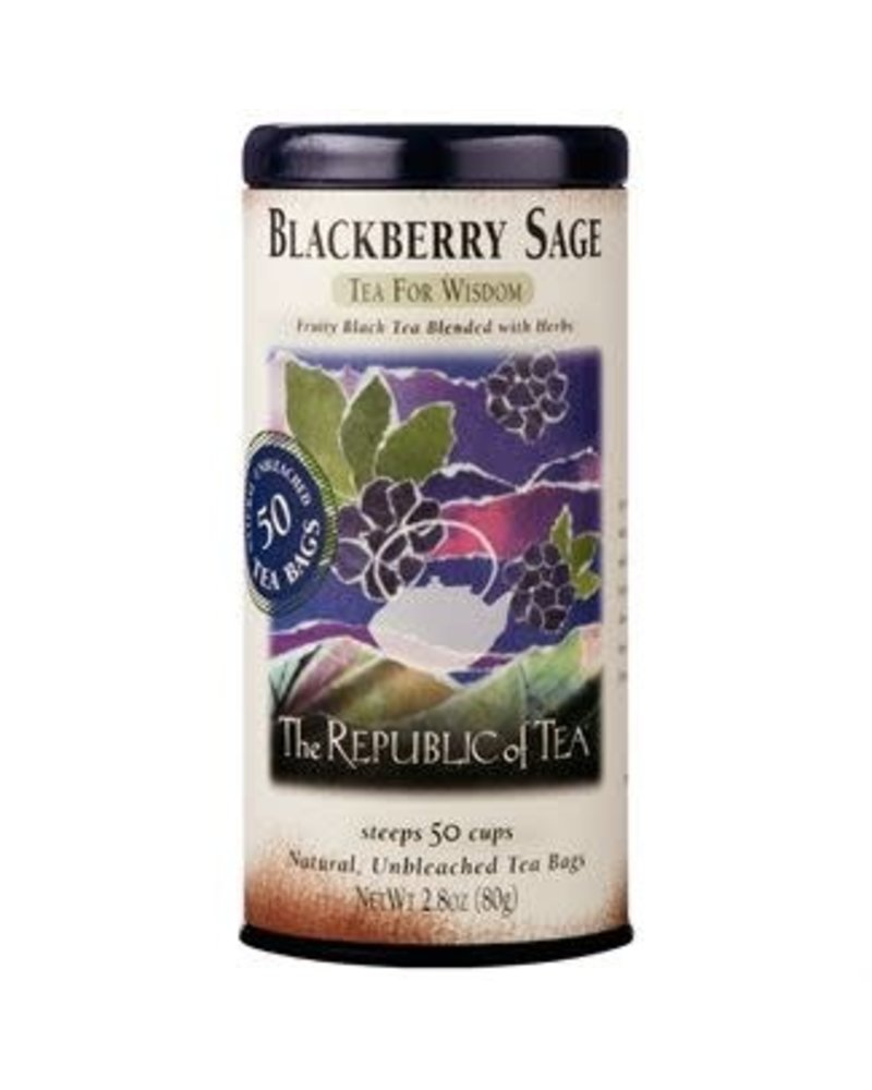 Republic of Tea Black Tea Blackberry Sage