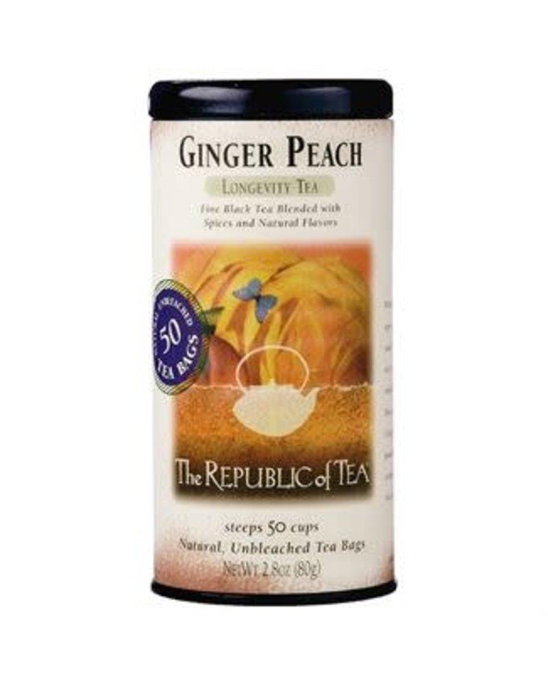 Republic of Tea Black Tea Ginger Peach