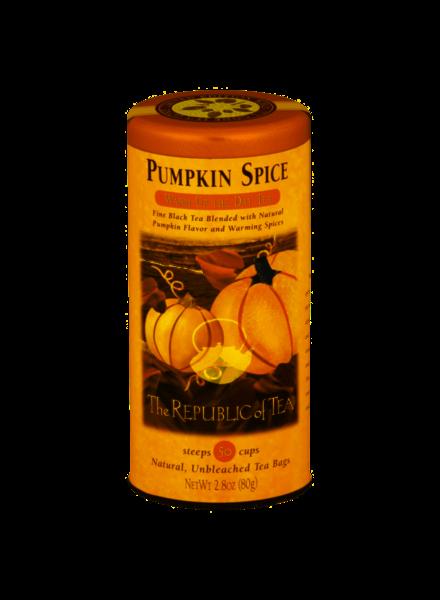 Republic of Tea Seasonal Tea Black Pumpkin Spice
