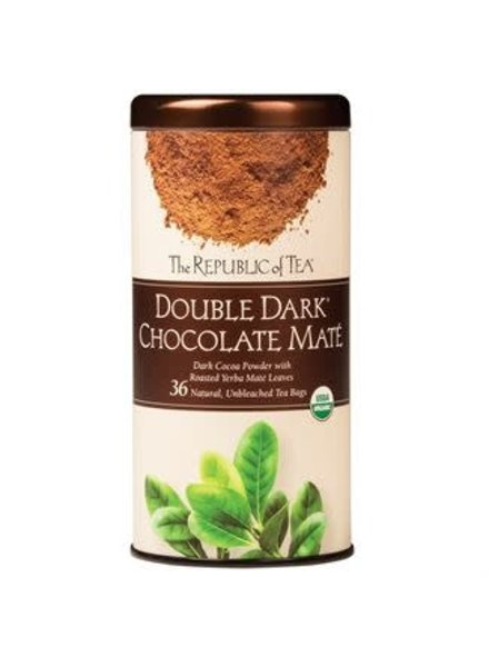 Republic of Tea Double Tea Dark Chocolate Mate
