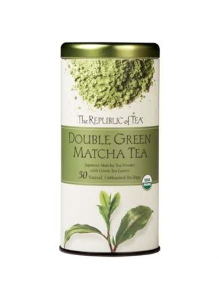 Republic of Tea Double Tea Green Matcha