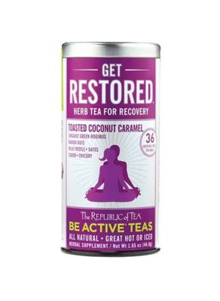 Republic of Tea Be Well Tea Get Restored DISCONTINUED