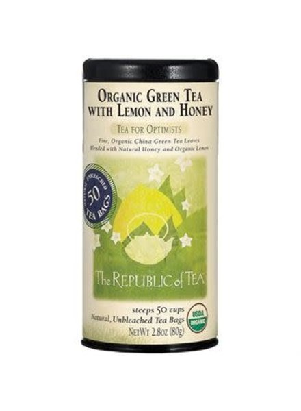 Republic of Tea Green Tea Lemon & Honey