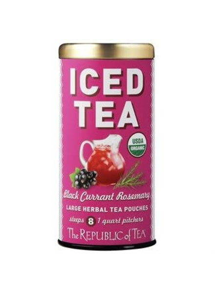 Republic of Tea Iced Black Currant Rosemary