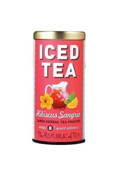 Iced Herbal Tea Hibiscus Sangria
