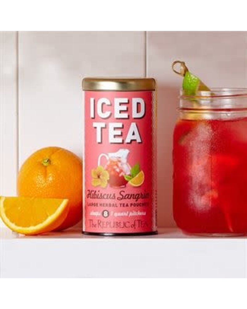 Republic of Tea Iced Herbal Tea Hibiscus Sangria
