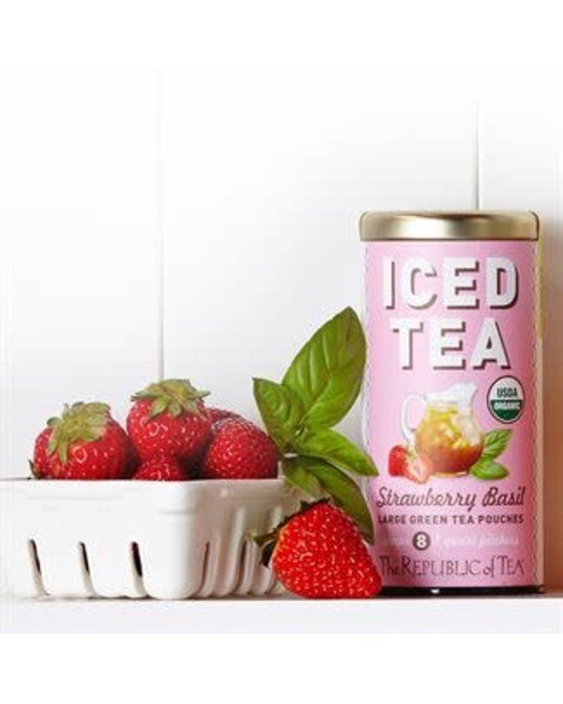 Republic of Tea Iced Green Tea Strawberry Basil