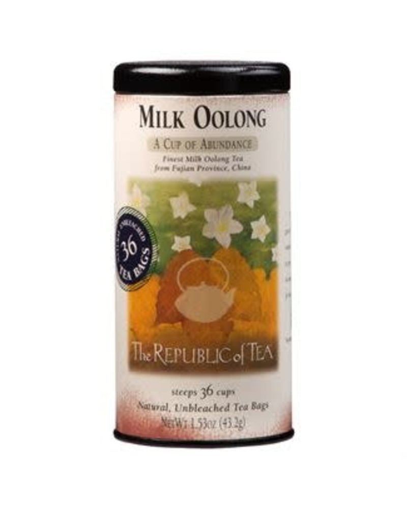 Republic of Tea Oolong Tea Milk Oolong