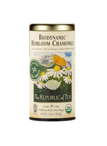 Republic of Tea Biodynamic Organic Heirloom Chamomile