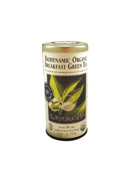 Republic of Tea Organic Biodynamic Grn Brkfst