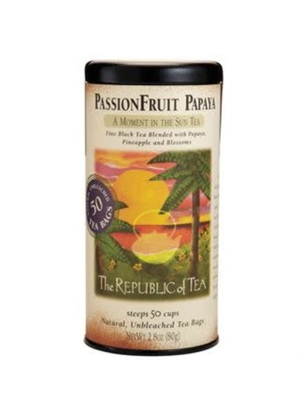 Republic of Tea Black Tea PassionFruit Papaya