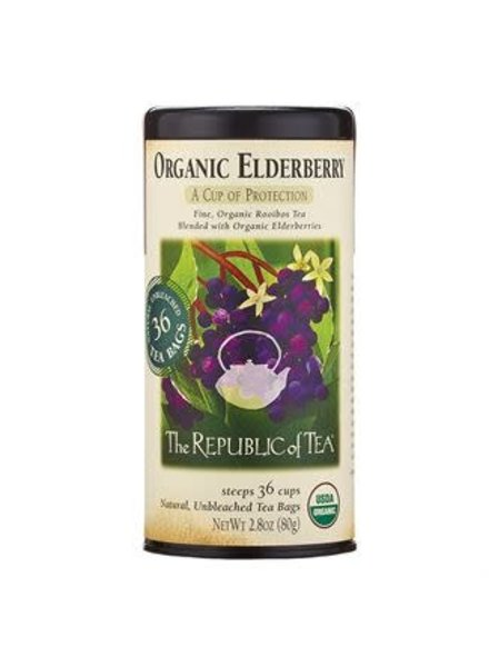 Republic of Tea Rooibos Tea Elderberry