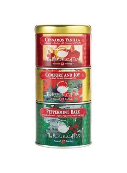 Republic of Tea Seasonal Holiday Stackable