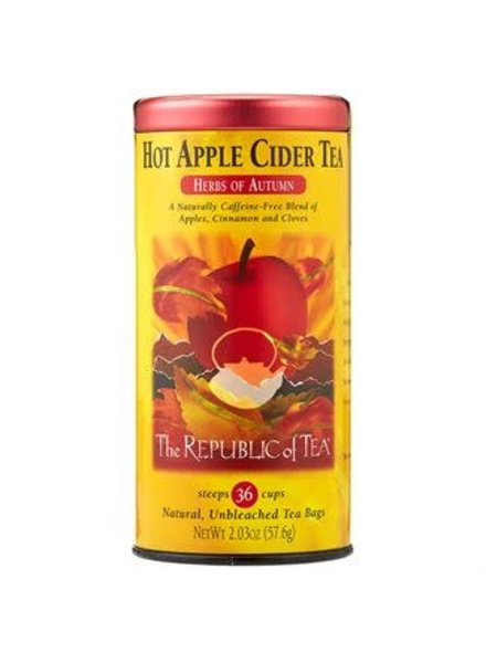 Republic of Tea Seasonal Tea Herbal Hot Apple Cider