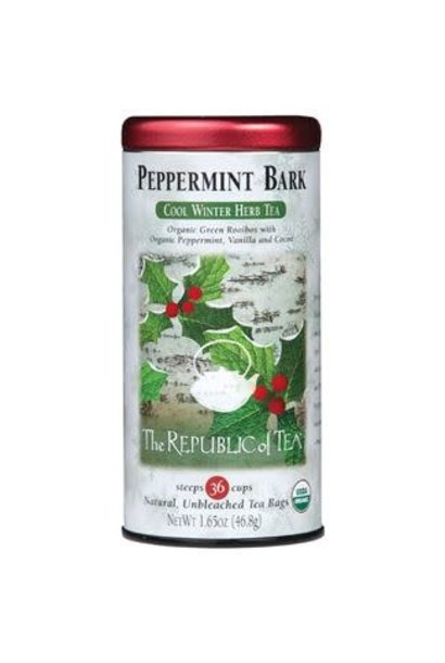 Seasonal Tea Peppermint Bark