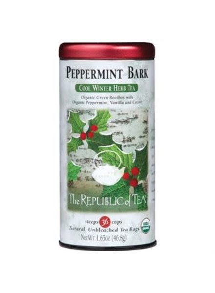 Republic of Tea Seasonal Tea Peppermint Bark