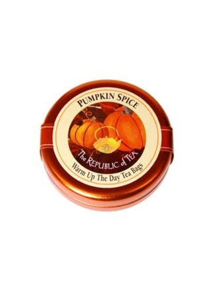 Republic of Tea Seasonal Travel Tin Pumpkin Spice