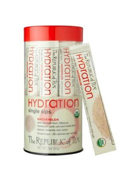 Republic of Tea Single Sips Hydration Melon