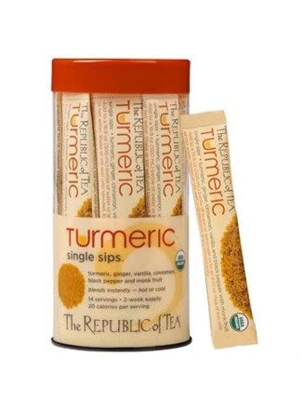 Republic of Tea Single Sips Turmeric