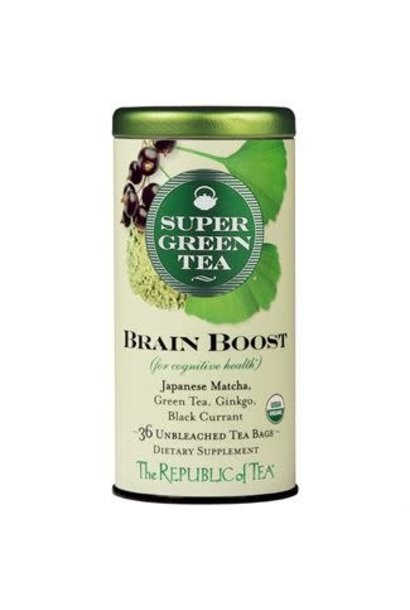 Super Green Tea Brain Boost Organic