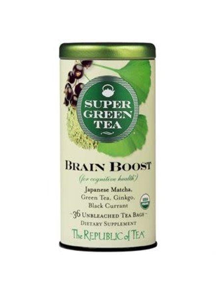 Republic of Tea Super Green Tea Brain Boost Organic