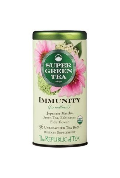 Super Green Tea Immunity Organic