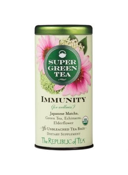 Republic of Tea Super Green Tea Immunity Organic