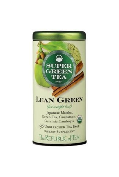 Super Green Tea Lean Green Organic