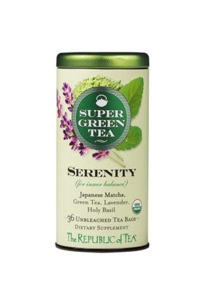 Super Green Tea Serenity Organic