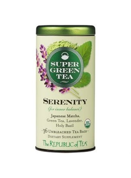 Republic of Tea Super Grn Serenity