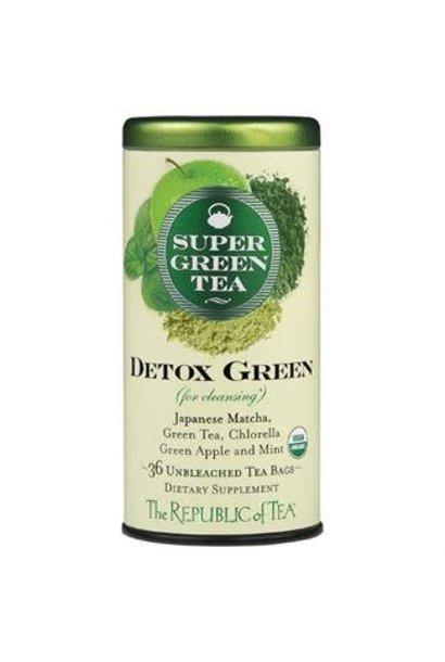 Super Green Tea Detox Organic