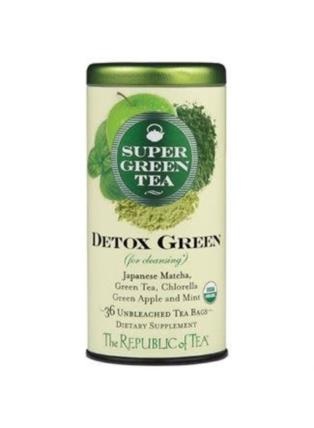 Republic of Tea Super Green Tea Detox Organic