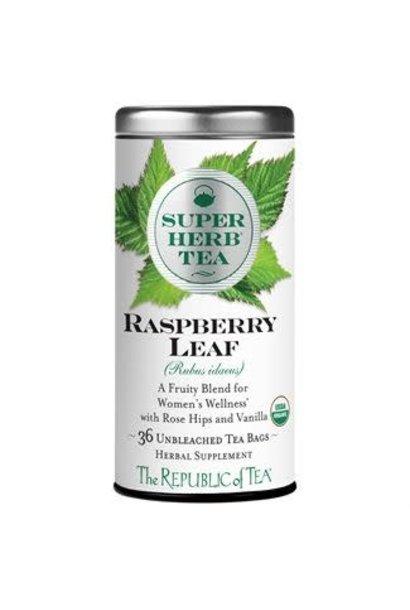 Super Herb Tea Rasberry Leaf Organic
