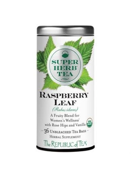 Republic of Tea Super Herb Tea Rasberry Leaf Organic