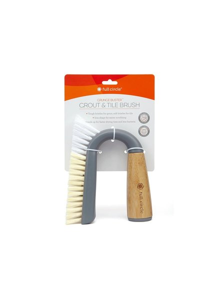Full Circle Grout & Tile Brush Grey
