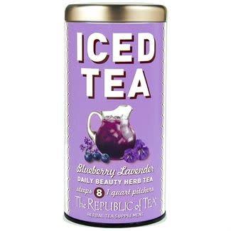 Iced Herbal Tea Blueberry Lavender-1