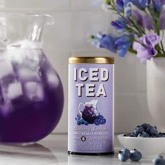 Iced Herbal Tea Blueberry Lavender-2
