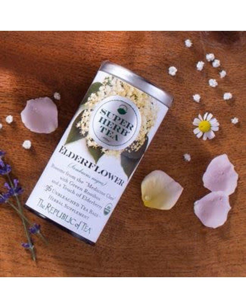 Republic of Tea SuperHerb Tea Organic Elderberry