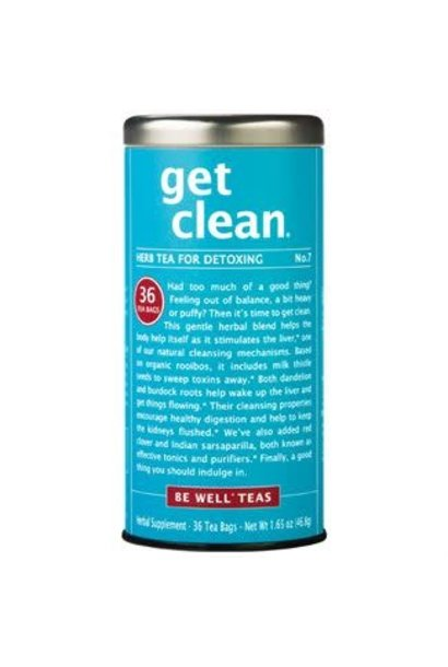 Be Well Tea Get Clean