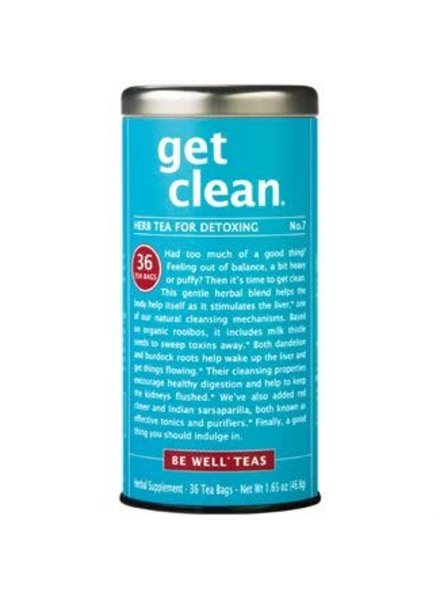 Republic of Tea Be Well Tea Get Clean