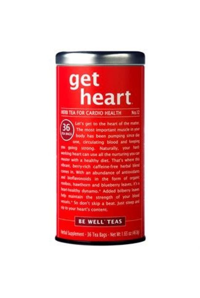 Be Well Tea Get Heart