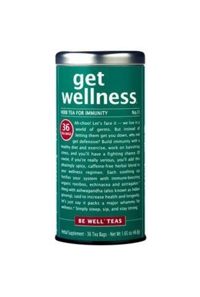 Be Well Tea Get Wellness