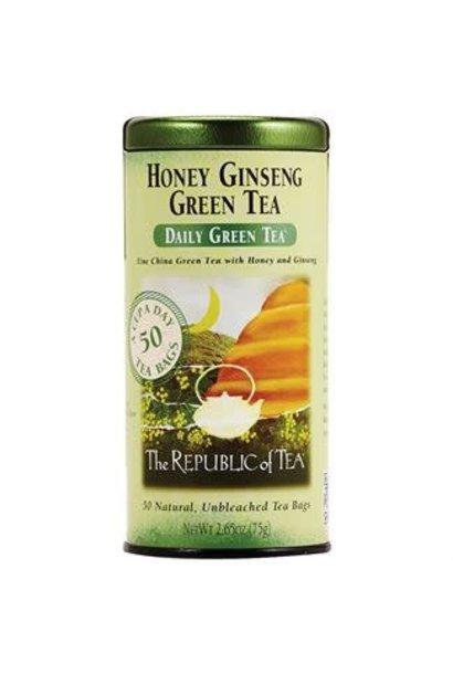 Green Tea Daily Honey Ginseng