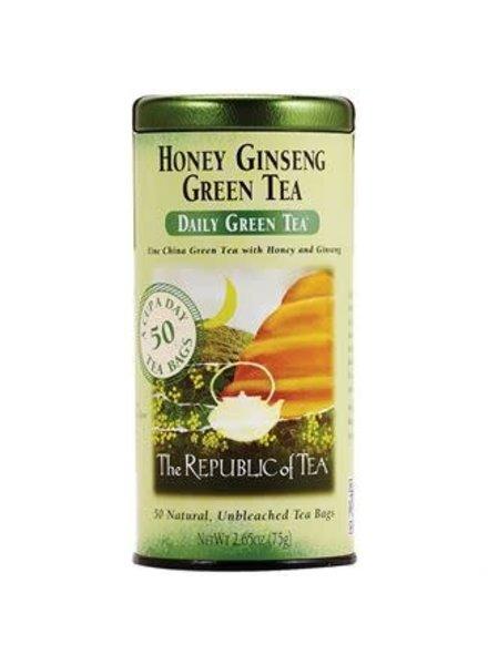 Republic of Tea Green Tea Daily Honey Ginseng