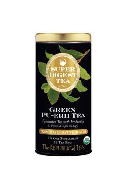 Super Digest Tea Green Pu-erh Organic
