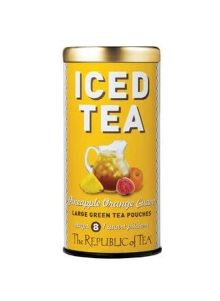 Republic of Tea Pineapple Orange Guava Iced Tea