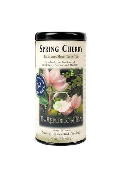 Green Tea Spring Cherry