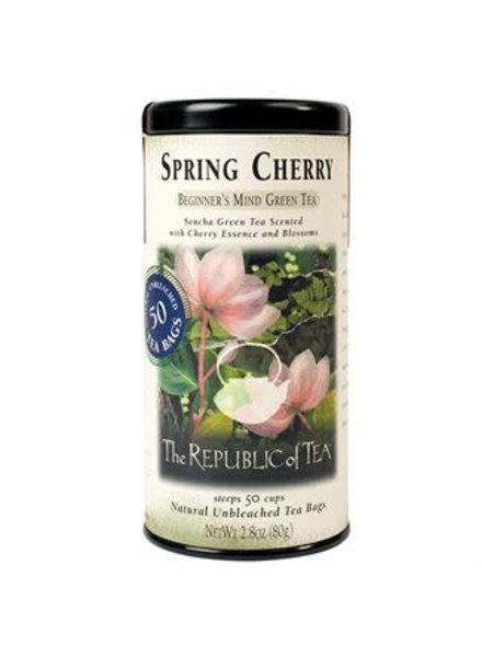 Republic of Tea Spring Cherry Green Tea