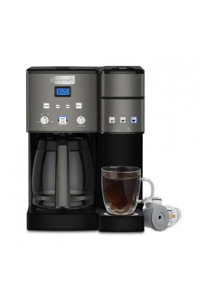 Coffee KCup/Carafe Blk Stnls