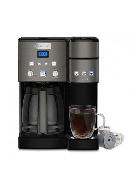 Cuisinart Coffee KCup/Carafe Blk Stnls